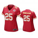 Maglia NFL Game Donna Kansas City Chiefs Clyde Edwards Helaire Rosso