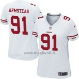 Maglia NFL Game Donna San Francisco 49ers Armstead Bianco