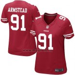 Maglia NFL Game Donna San Francisco 49ers Armstead Rosso