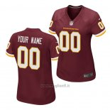 Maglia NFL Game Donna Washington Redskins Personalizzate Rosso