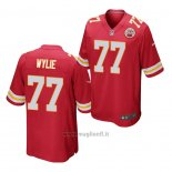 Maglia NFL Game Kansas City Chiefs Andrew Wylie Rosso