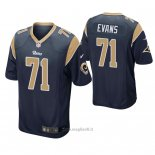 Maglia NFL Game Los Angles Rams Bobby Evans Blu2