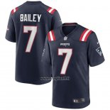 Maglia NFL Game New England Patriots Jake Bailey Blu