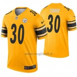 Maglia NFL Legend Pittsburgh Steelers 30 James Conner Inverted Or