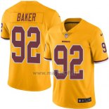 Maglia NFL Legend Washington Redskins Baker Giallo