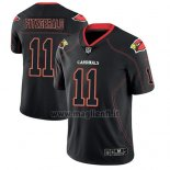 Maglia NFL Limited Arizona Cardinals Larry Fitzgerald Nero Color Rush 2018 Lights Out