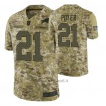 Maglia NFL Limited Buffalo Bills 21 Jordan Poyer 2018 Salute To Service Camuffamento