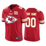 Maglia NFL Limited Kansas City Chiefs Personalizzate Big Logo Number Rosso