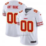 Maglia NFL Limited Kansas City Chiefs Personalizzate Team Logo Fashion Bianco