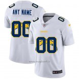 Maglia NFL Limited Los Angeles Chargers Personalizzate Logo Dual Overlap Bianco