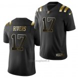 Maglia NFL Limited New England Patriots Philip Rivers Golden Edition Nero