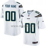 Maglia NFL Los Angeles Chargers Personalizzate Bianco