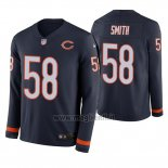 Maglia NFL Therma Manica Lunga Chicago Bears Roquan Smith Blu