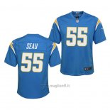 Maglia NFL Game Bambino Los Angeles Chargers Junior Seau 2020 Blu