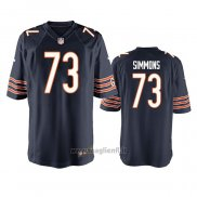 Maglia NFL Game Chicago Bears Lachavious Simmons Blu