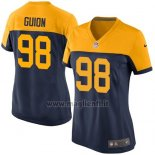 Maglia NFL Game Donna Green Bay Packers Guion Nero Giallo