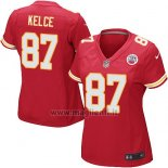 Maglia NFL Game Donna Kansas City Chiefs Kelce Rosso