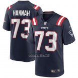 Maglia NFL Game New England Patriots John Hannah Retired Blu
