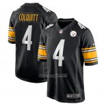 Maglia NFL Game Pittsburgh Steelers Dustin Colquitt Nero