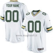 Maglia NFL Green Bay Packers Personalizzate Bianco