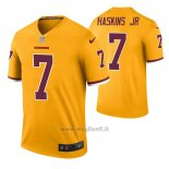 Maglia NFL Legend Washington Redskins Dwayne Haskins Color Rush Giallo