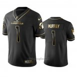 Maglia NFL Limited Arizona Cardinals Kyler Murray Golden Edition Nero