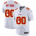 Maglia NFL Limited Kansas City Chiefs Personalizzate Logo Dual Overlap Bianco