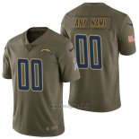 Maglia NFL Limited Los Angeles Chargers Personalizzate 2017 Salute To Service Verde