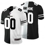 Maglia NFL Limited Los Angeles Chargers Personalizzate Black White Split