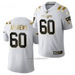Maglia NFL Limited New England Patriots David Andrews Golden Edition 2020 Bianco