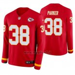 Maglia NFL Therma Manica Lunga Kansas City Chiefs Ron Parker Rosso