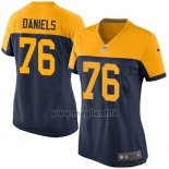Maglia NFL Game Donna Green Bay Packers Daniels Nero Giallo