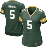 Maglia NFL Game Donna Green Bay Packers Hornung Verde Militar2