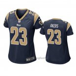 Maglia NFL Game Donna Los Angles Rams Cam Akers Blu