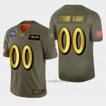Maglia NFL Limited Baltimore Ravens Personalizzate 2019 Salute To Service Verde