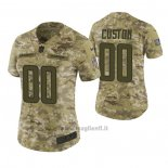 Maglia NFL Limited Donna Los Angeles Chargers Personalizzate 2018 Salute To Service Verde
