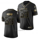 Maglia NFL Limited Seattle Seahawks Jamal Adams Golden Edition Nero