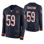 Maglia NFL Therma Manica Lunga Chicago Bears Danny Trevathan Blu