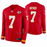 Maglia NFL Therma Manica Lunga Kansas City Chiefs Harrison Butker Rosso