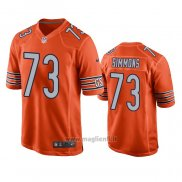 Maglia NFL Game Chicago Bears Lachavious Simmons Alternato Arancione