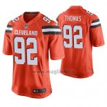 Maglia NFL Game Cleveland Browns Chad Thomas Arancione Alternate