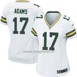 Maglia NFL Game Donna Green Bay Packers Adams Bianco