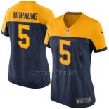 Maglia NFL Game Donna Green Bay Packers Hornung Nero Giallo2