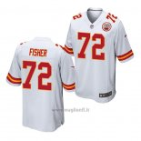 Maglia NFL Game Kansas City Chiefs Eric Fisher Bianco