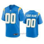 Maglia NFL Game Los Angeles Chargers Personalizzate Powder 2020 Blu