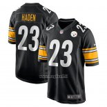 Maglia NFL Game Pittsburgh Steelers Joe Haden Nero