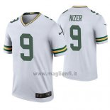 Maglia NFL Legend Green Bay Packers Deshone Kizer Bianco Color Rush