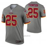 Maglia NFL Legend Washington Redskins Chris Thompson Inverted Grigio