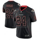 Maglia NFL Limited Atlanta Falcons Devonta Freeman Nero Color Rush 2018 Lights Out