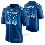 Maglia NFL Limited Chicago Bears Eddie Jackson 2019 Pro Bowl Blu